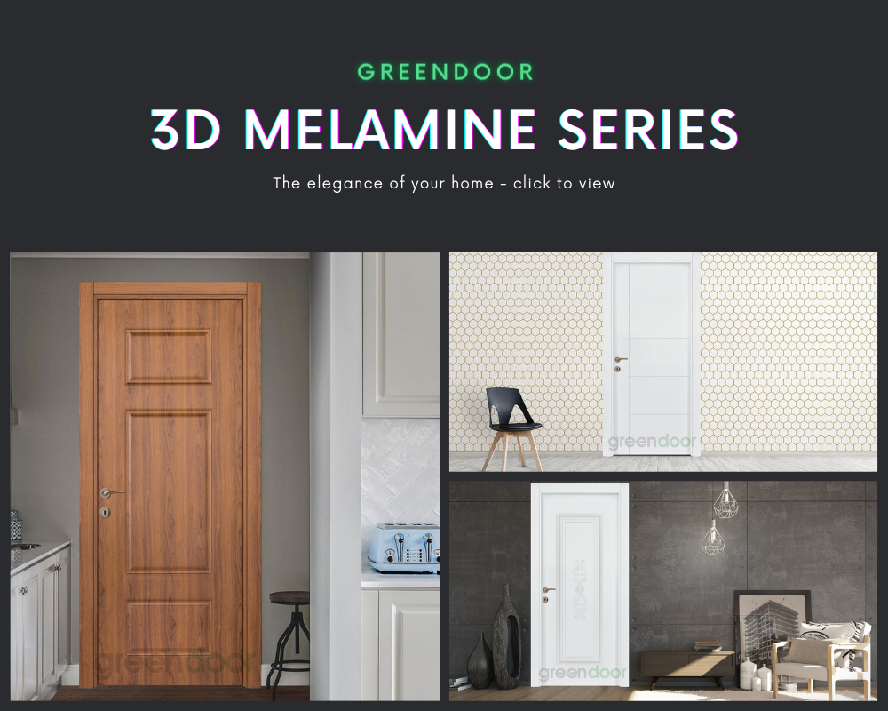 3D Melamine Series